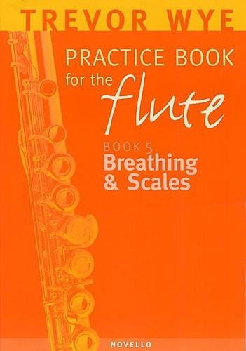 Practice book for the flute Volume 5 - Breathing & Scales - laflutedepan.com