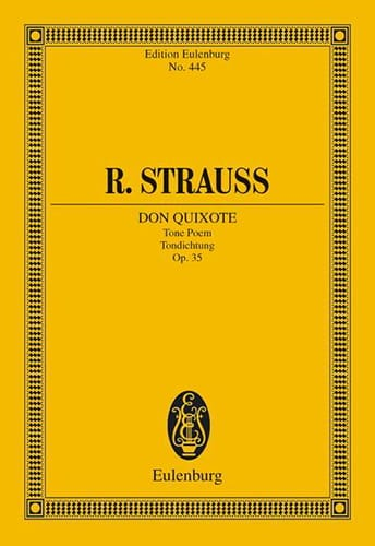 Richard Strauss - Don Quixote - Partition - di-arezzo.co.uk