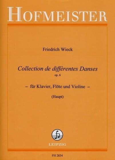 Collection de différentes danses op. 6 - laflutedepan.com