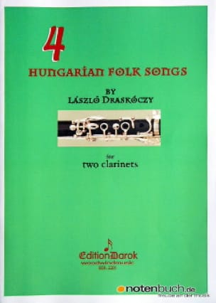 4 Chansons populaires hongroises - Clarinettes - laflutedepan.com