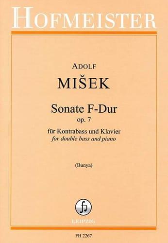 Sonate F-Dur Op. 7 - Kontrabass Klavier - laflutedepan.com