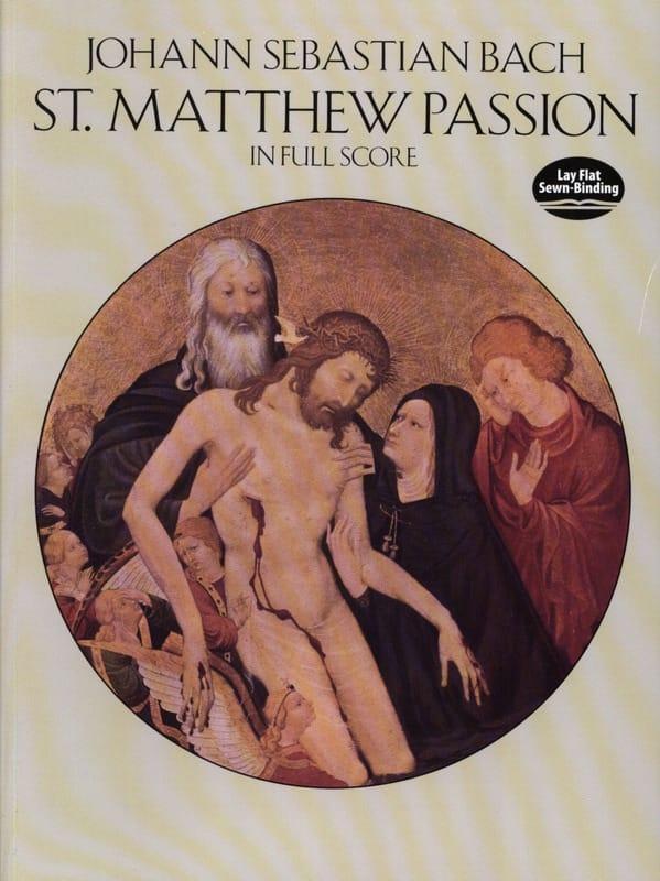 BACH - St. Matthew Passion - Full Score - Partition - di-arezzo.co.uk