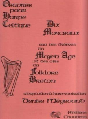 Dix morceaux - harpe celtique - Partition - laflutedepan.com