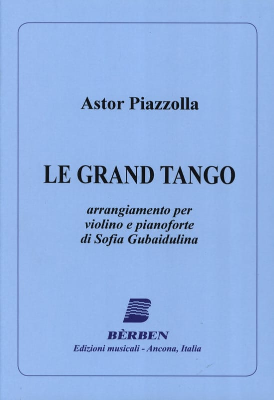 Astor Piazzolla - Der Große Tango - Violine - Partition - di-arezzo.de