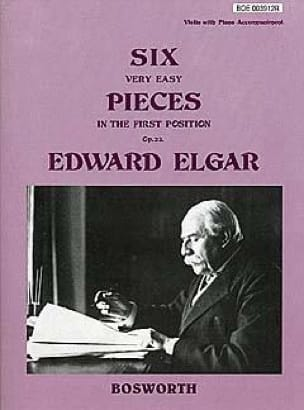 ELGAR - 6 Very easy pieces op. 22 - Violin - Partition - di-arezzo.co.uk