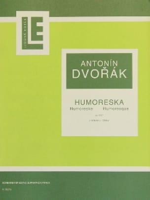 Humoresque op. 101 n° 7 - DVORAK - Partition - laflutedepan.com