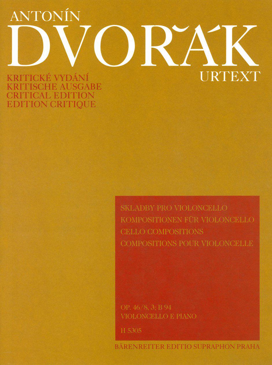 Compositions pour violoncelle - DVORAK - Partition - laflutedepan.com