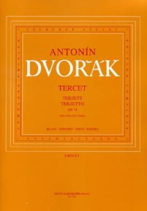 DVORAK - Terzetto op. 74 - 2 Violinen Viola - Stimmen - Partition - di-arezzo.co.uk