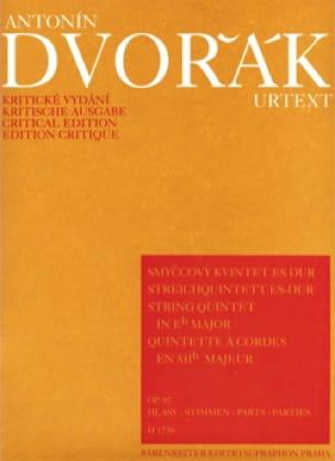 Streichquintett Es-Dur op. 97 -Stimmen Voir BA9542 - laflutedepan.com