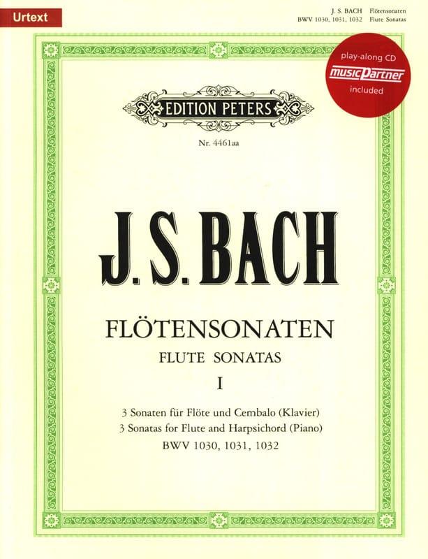 Flötensonaten Volume 1 - BACH - Partition - laflutedepan.com