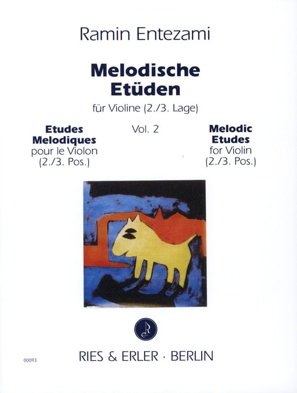 Ramin Entezami - Melodische Etüden - Volume 2 - Partition - di-arezzo.co.uk