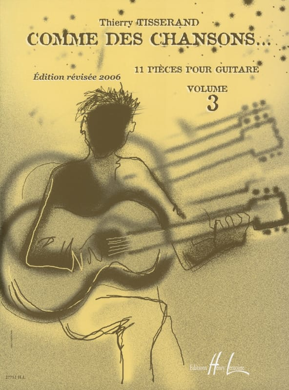 Thierry Tisserand - Like Songs ... Volume 3 - Partition - di-arezzo.jp