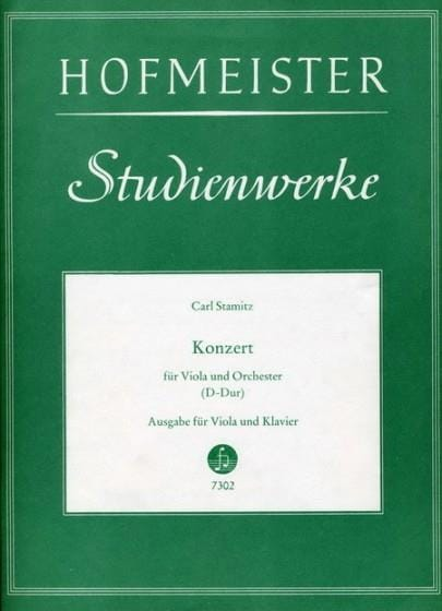 Carl Stamitz - Konzert D-Dur - Partition - di-arezzo.es
