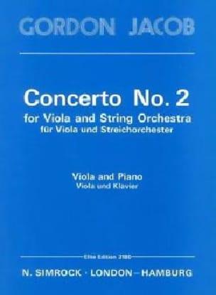 Concerto n° 2 for Viola - Gordon Jacob - Partition - laflutedepan.com