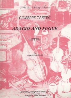 Adagio et Fugue - Alto - TARTINI - Partition - Alto - laflutedepan.com