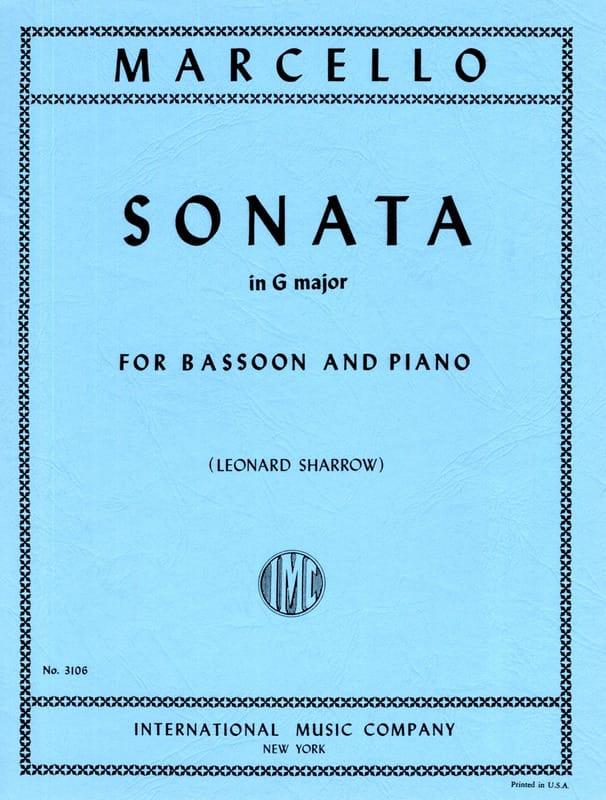 Sonata in G major -Bassoon piano - laflutedepan.com