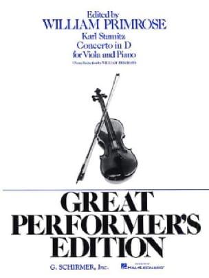 Carl Stamitz - Concerto in D - Partition - di-arezzo.co.uk