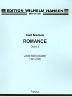 Romance op. 2 - Violin Orch. - Partitur - NIELSEN - laflutedepan.com