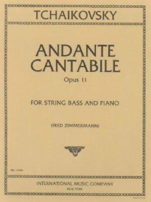 Andante Cantabile Op. 11 - TCHAIKOVSKY - Partition - laflutedepan.com