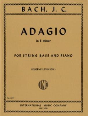 Adagio In E Minor - String Bass - laflutedepan.com