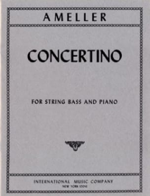 André Ameller - Concertino - String bass - piano - Partition - di-arezzo.co.uk