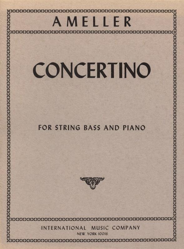 André Ameller - Concertino - String bass - piano - Partition - di-arezzo.co.uk