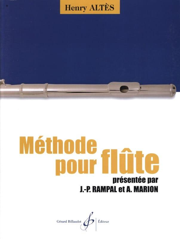 Henry Altès - Method for Flute - Partition - di-arezzo.com