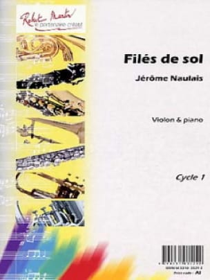 Filés de sol - Jérôme Naulais - Partition - Violon - laflutedepan.com
