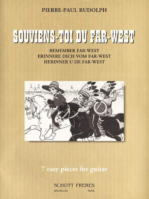 Souviens-toi du Far-West - Pierre-Paul Rudolph - laflutedepan.com