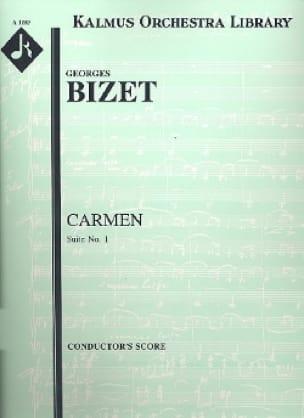 BIZET - Carmen Suite n° 1 - Score - Partition - di-arezzo.fr