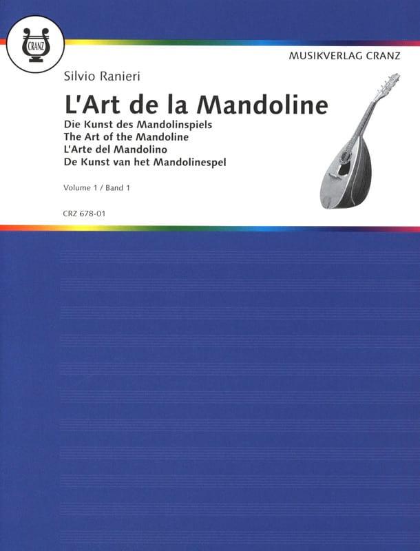 S. Ranieri - L'art de la mandoline - Volume 1 - Partition - di-arezzo.fr