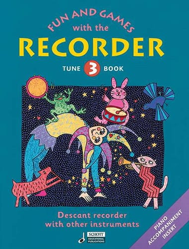 Fun and games with the recorder - Tune 3 - laflutedepan.com