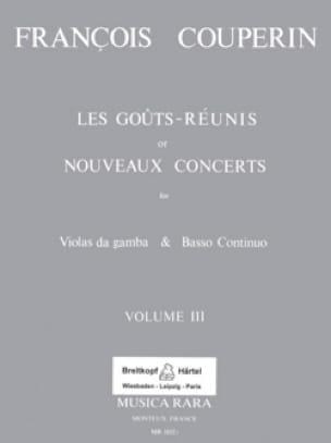 Les Goûts réunis ou Nouveaux Concerts - Volume 3 - laflutedepan.com