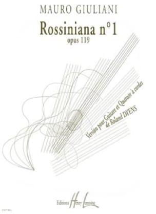 Rossiniana n° 1 op. 119 - Parties + Conducteur - laflutedepan.com