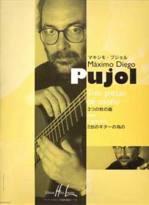 Tres Piezas de Otono - Maximo Diego Pujol - laflutedepan.com