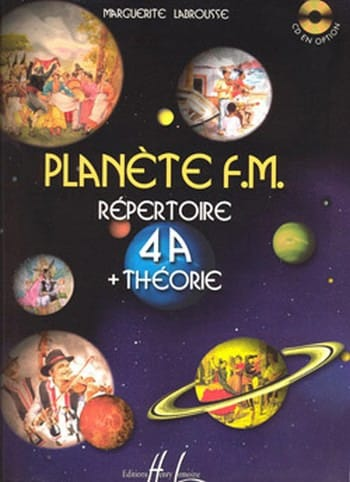 Marguerite Labrousse - Planet FM 4A - Directory di teoria - Partition - di-arezzo.it