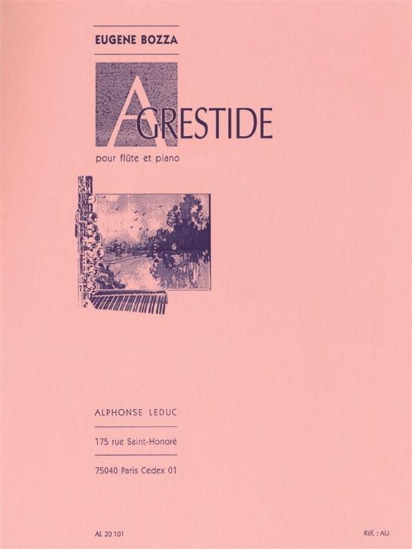 Eugène Bozza - Agrestide - Partition - di-arezzo.com