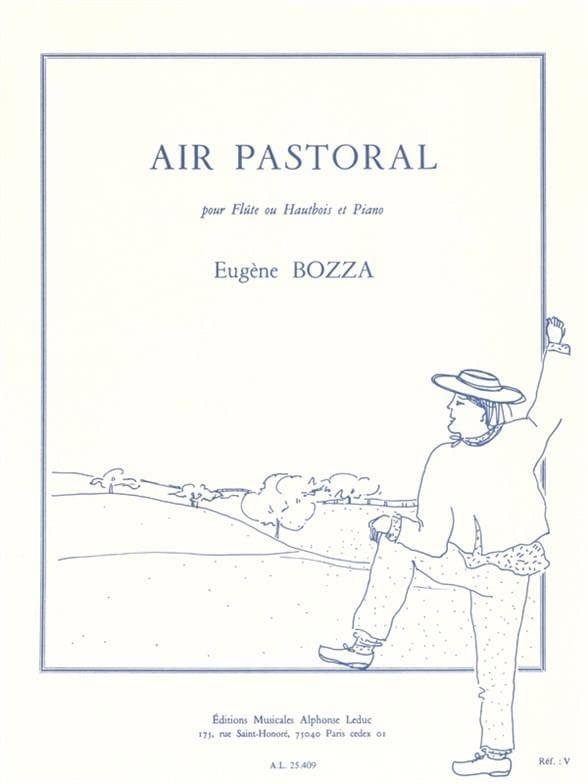 Eugène Bozza - Aire pastoral - Partition - di-arezzo.es