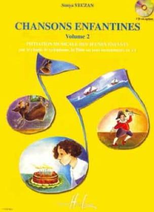 Chansons enfantines - Volume 2 - Sonya Veczan - laflutedepan.com