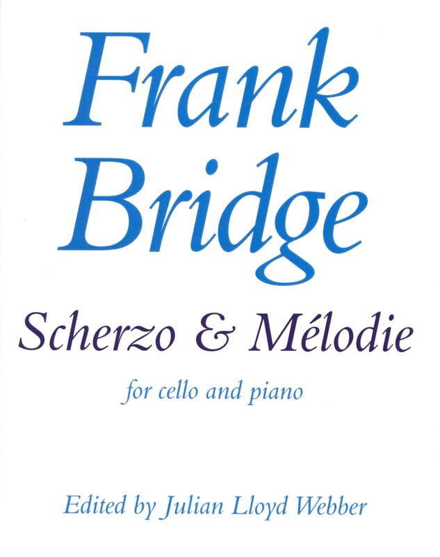 Frank Bridge - Scherzo and Melody - Partition - di-arezzo.co.uk