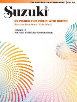 21 Pieces for Violin and Guitar - SUZUKI - laflutedepan.com