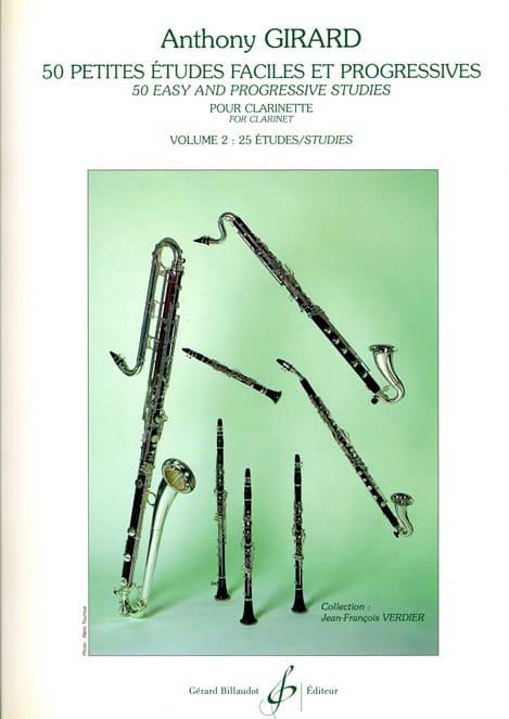 50 Petites études faciles et progressives - Volume 2 - laflutedepan.com