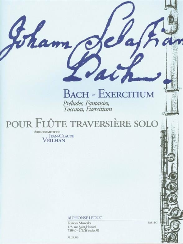 BACH - Bach-Exercitium - Partition - di-arezzo.co.uk