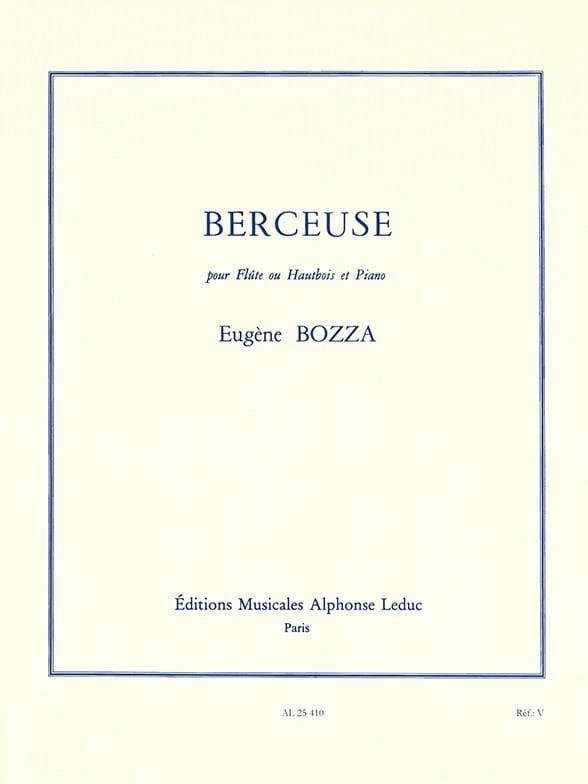 Eugène Bozza - canción de cuna - Partition - di-arezzo.es