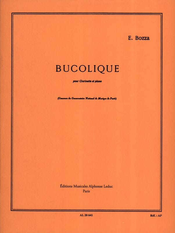 Eugène Bozza - Bucolic - Partition - di-arezzo.co.uk