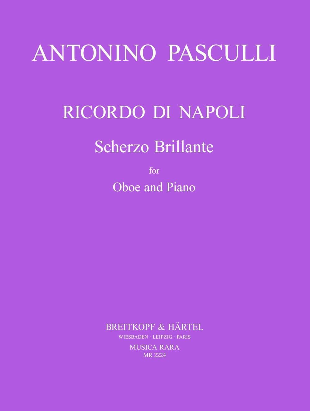 Antonino Pasculli - Ricordo di Napoli - Partition - di-arezzo.es