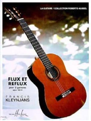 Francis Kleynjans - Flujo y reflujo op. 165b - 2 guitarras - Partition - di-arezzo.es
