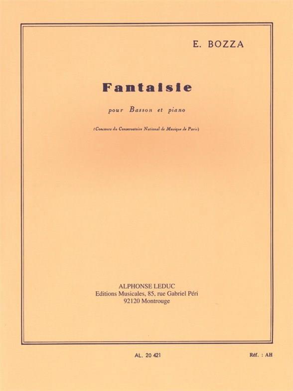 Eugène Bozza - Fancy - Partition - di-arezzo.com