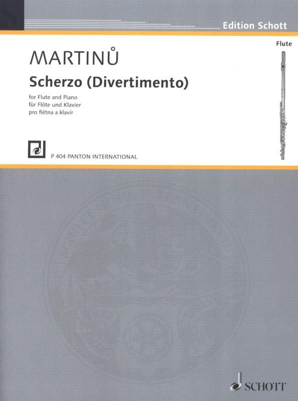 Bohuslav Martinu - Scherzo Divertimento - Partition - di-arezzo.co.uk