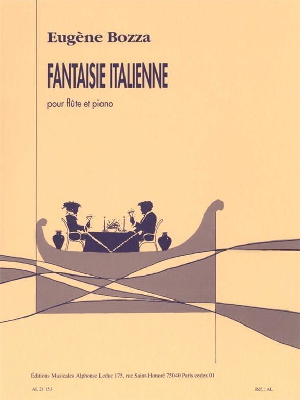 Eugène Bozza - Fantasía italiana - flauta - Partition - di-arezzo.es